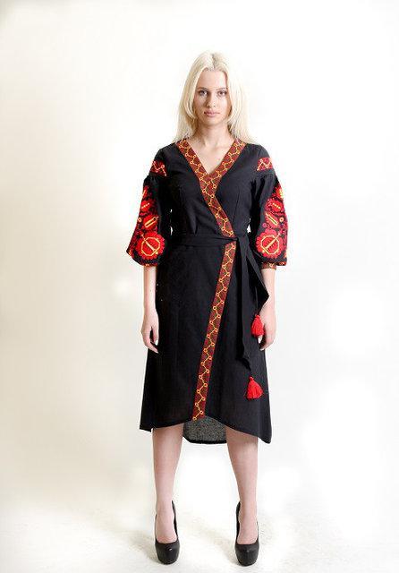 Женское вышитое платье Древо жизни