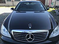 Капот черный Mercedes s-class w221