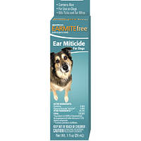 Капли Sentry Earmite Free от ушного клеща для собак, 0,025 л