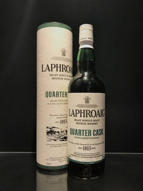Виски Laphroaig Quarter Cask Лафройг Квотер Каск 0.7л