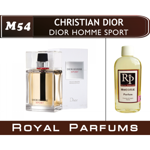 духи на разлив Royal Parfums M 54 Dior Homme Sport от Christian