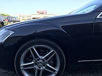 Крыло левое черное Mercedes s-class w221