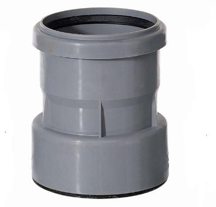 HL9/1 Переходник DN110 для воронок из ПП/ПВХ на чугун / свинец / сталь