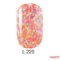 Гель-лак Naomi Lets Go Party 225, 6 мл