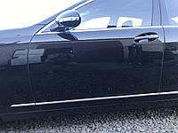 Дверь передняя левая черная Mercedes s-class w221