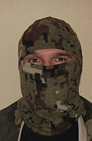 Флисовая шапка-маска камуфлированная, фото 1