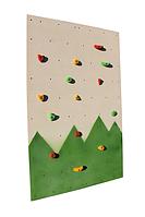 Детский скалодром «Лесочек» размер: 1,25х2,0 м, максимальная нагрузка до 100 кг ТМ KIDIGO SDS06