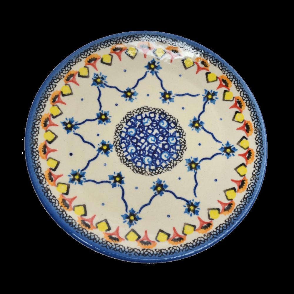 Керамическая тарелка десертная, закусочная Ø17 Зеллидж