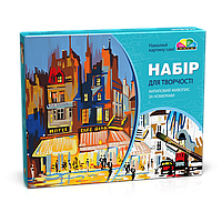 "Набор для раскрашивания на холсте ""Париж"" 35х45"