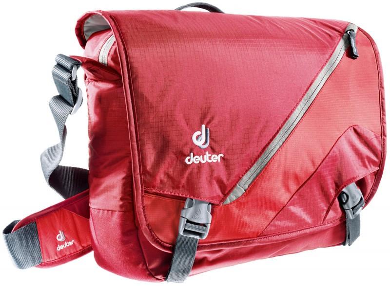 Повседневная, городская сумка с клапаном DEUTER LOAD, 85053 5560 красный