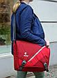 Повседневная, городская сумка с клапаном DEUTER LOAD, 85053 5560 красный, фото 6