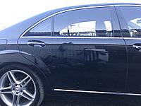 Дверь задняя правая черная Long Mercedes s-class w221 , фото 1