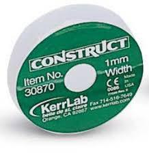 Шинуюча стрічка Construct 1мм/90см, Kerr, фото 2