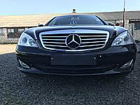 Бампер передний черный Mercedes s-class w221 , фото 1