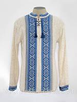 Вышиванка мужская. Пуловер вязаный