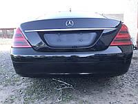 Бампер задний черный Mercedes s-class w221 , фото 1