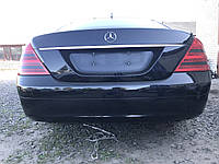 Бампер задній чорний Mercedes s-class w221, фото 1