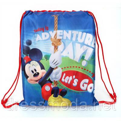 Рюкзак-мішечок дитячий для хлопчика Micky