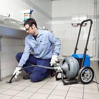 Прочистка канализации механическим методом