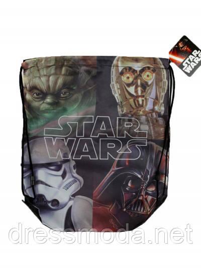 Рюкзак-мешочек  детский для мальчика Star Wars