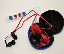 Вакуумні навушники з мікрофоном Awei ES500i, фото 2