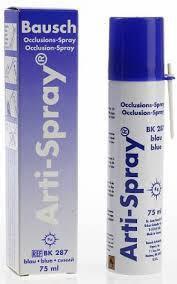 Індикатор оклюзії Bausch Arti-Spray ВК287  аерозоль  (75мл), фото 2
