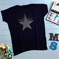 Женская футболка ( размеры 46-54)