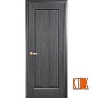 Межкомнатные двери Новый Стиль Премьера ПГ грей гравировка
