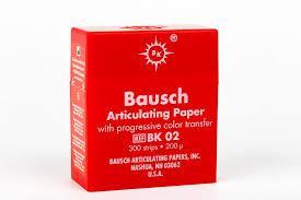 Артикуляційний папір Bausch ВК02  200µm (300 листів)