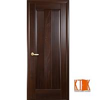 Межкомнатные двери Новый Стиль Премьера ПГ каштан гравировка