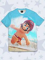 Футболка 3D Super Mario, фото 1