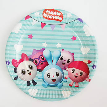 Тарелка для вечеринки Малышарики