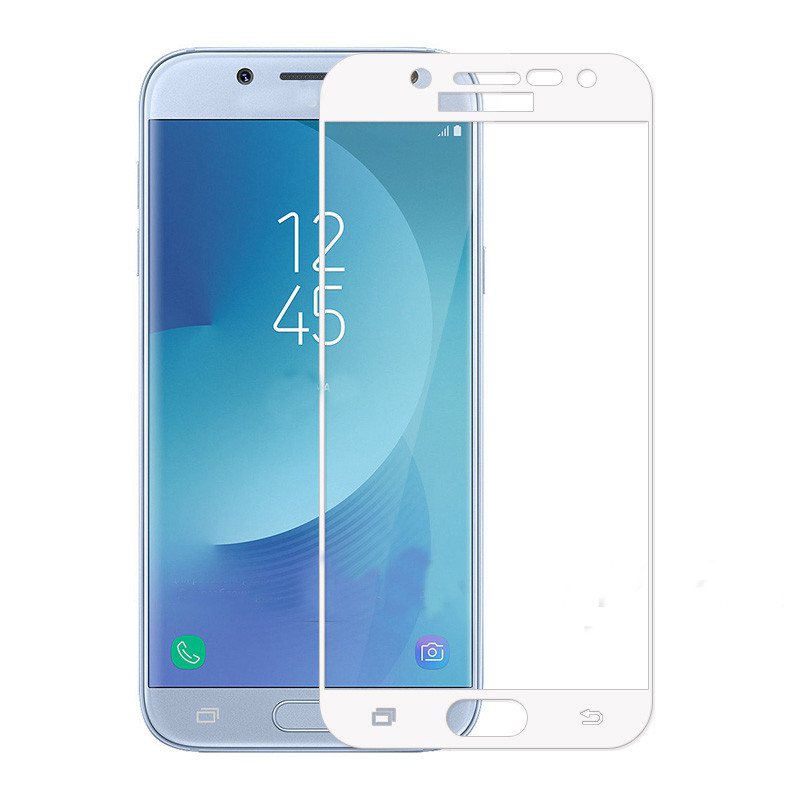 Защитное стекло Mocolo для Samsung Galaxy J5 (2017) J530 Full Cover White