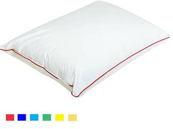 Подушка прямокутник кант жовтий