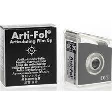 Артикуляційна фольга Bausch Arti-Fol  ВК24 8µm (20м х 22мм двостороння), фото 2