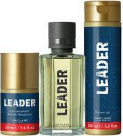Подарочный набор для мужчин Leader [Лидер]: вода + гель + шарик / Oriflame