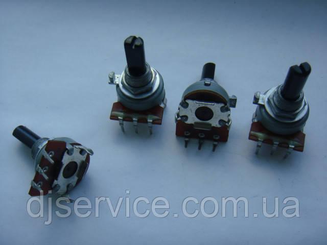Потенциометр 161 b50k  (50kb) 20mm midpoint