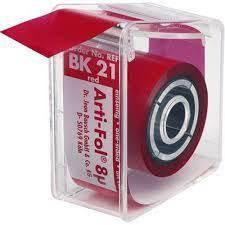 Артикуляційна фольга Bausch Arti-Fol  ВК21 8µm (20м х 22мм одностороння), фото 2