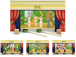 Магнитный игровой набор Театр Viga toys (56005)