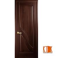 Межкомнатные двери Новый Стиль Амата ПГ каштан
