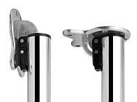 Ножка для стола откидная h-710 мм d-50 мм Хром