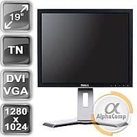 "Монитор 19"" DELL 1908FP (TN/5:4/VGA/DVI/USB) class A БУ"