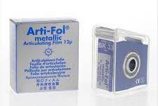Фольга Bausch Arti-Fol metallic Shimstock ВК33 12µm (20м х 22мм одностороння), фото 2