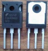 Транзистор FGH40N60SFD демонтаж