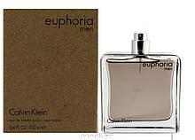 Calvin Klein Euphoria Men туалетная вода 100 ml. (Тестер Кельвин Кляйн Эйфория Мен)