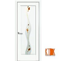 Межкомнатные двери Новый Стиль Волна Р1 белый