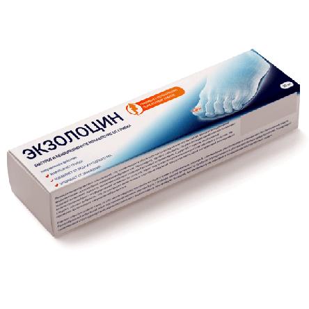 Экзолоцин - Гель від грибка нігтів і стоп, фото 2