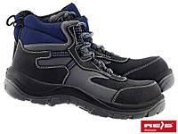 Черевики зі сталевим носком REIS BRC MAX Reis (нубук+шкіра)