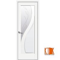Межкомнатные двери Новый Стиль Прима  Р2 белый