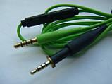 Шнур (green) с пультом для наушников AKG K450 K451 Q460 K480, фото 2